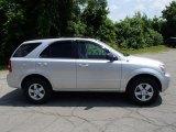 2009 Bright Silver Kia Sorento LX 4x4 #82638422