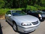 2001 Galaxy Silver Metallic Chevrolet Impala LS #82638474