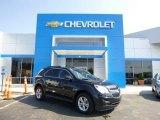 2010 Black Granite Metallic Chevrolet Equinox LT AWD #82638473