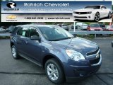 2013 Atlantis Blue Metallic Chevrolet Equinox LS #82638712