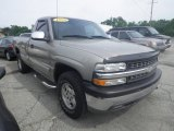 1999 Light Pewter Metallic Chevrolet Silverado 1500 LS Regular Cab 4x4 #82638769