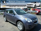 2013 Atlantis Blue Metallic Chevrolet Equinox LS #82638705