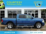 2011 Deep Water Blue Pearl Dodge Ram 1500 Sport Crew Cab #82638400