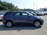 2013 Atlantis Blue Metallic Chevrolet Equinox LS AWD #82638460