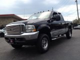 2004 Black Ford F250 Super Duty Lariat SuperCab 4x4 #82638757