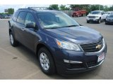 2013 Atlantis Blue Metallic Chevrolet Traverse LS #82638640