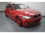2009 Crimson Red BMW 3 Series 335i Sedan #82638582