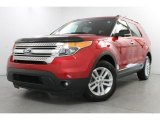2011 Red Candy Metallic Ford Explorer XLT 4WD #82638324