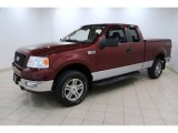 2005 Ford F150 XLT SuperCab 4x4 Front 3/4 View