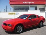 2005 Torch Red Ford Mustang V6 Premium Coupe #8244507
