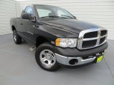 2004 Black Dodge Ram 1500 SLT Regular Cab 4x4 #82638511