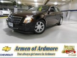 2009 Black Cherry Cadillac CTS 4 AWD Sedan #82638508