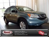2011 Opal Sage Metallic Honda CR-V SE #82672538