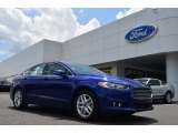 2013 Deep Impact Blue Metallic Ford Fusion SE 1.6 EcoBoost #82672738