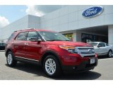 2013 Ruby Red Metallic Ford Explorer XLT #82672737