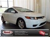 2007 Taffeta White Honda Civic EX Coupe #82672526
