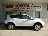 2013 Blizzard White Pearl Toyota RAV4 Limited AWD #82672628