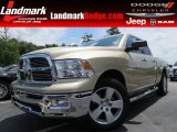 2011 White Gold Dodge Ram 1500 Big Horn Quad Cab #82672730