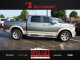 2011 Mineral Gray Metallic Dodge Ram 1500 Laramie Crew Cab 4x4 #82672603