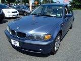 2005 Steel Blue Metallic BMW 3 Series 325i Sedan #82672512