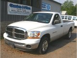 2006 Bright White Dodge Ram 1500 SLT Regular Cab #82672821