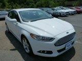 2013 Oxford White Ford Fusion Hybrid SE #82672697