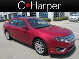 2010 Sangria Red Metallic Ford Fusion SEL V6 #82672503