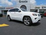 2014 Bright White Jeep Grand Cherokee Overland #82672813