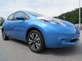 Blue Ocean Nissan LEAF in 2013