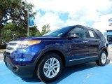 2011 Kona Blue Metallic Ford Explorer XLT #82672676