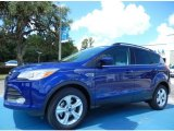 2014 Deep Impact Blue Ford Escape SE 1.6L EcoBoost #82672670