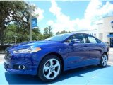 2013 Deep Impact Blue Metallic Ford Fusion SE #82672666