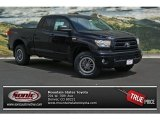 2013 Black Toyota Tundra TRD Rock Warrior Double Cab 4x4 #82672484
