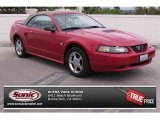 1999 Laser Red Metallic Ford Mustang GT Convertible #82672787