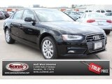 2013 Brilliant Black Audi A4 2.0T quattro Sedan #82672901