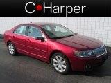 2007 Vivid Red Metallic Lincoln MKZ Sedan #82673149