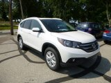 2013 White Diamond Pearl Honda CR-V EX-L AWD #82673128