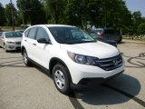 2013 White Diamond Pearl Honda CR-V LX AWD #82673127