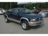 2004 Patriot Blue Pearl Dodge Dakota SLT Club Cab 4x4 #82673116