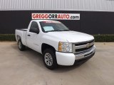 2011 Summit White Chevrolet Silverado 1500 LS Regular Cab #82673010