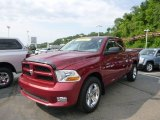 2012 Deep Cherry Red Crystal Pearl Dodge Ram 1500 Express Quad Cab 4x4 #82673001