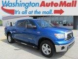 2008 Blue Streak Metallic Toyota Tundra SR5 CrewMax 4x4 #82731912