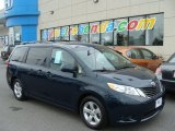 2012 South Pacific Pearl Toyota Sienna LE #82732554