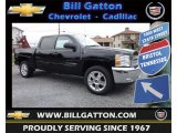 2013 Black Chevrolet Silverado 1500 LT Crew Cab 4x4 #82732436