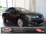 2013 Hematite Metallic Honda Accord EX-L V6 Sedan #82731772