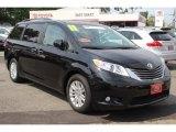 2011 Black Toyota Sienna XLE #82731984