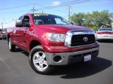 2007 Salsa Red Pearl Toyota Tundra SR5 Double Cab 4x4 #82732195