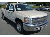2013 White Diamond Tricoat Chevrolet Silverado 1500 LT Crew Cab 4x4 #82732309