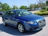 2008 Ocean Blue Pearl Effect Audi A4 2.0T Special Edition Sedan #824997