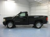 2008 Black Chevrolet Silverado 1500 LS Regular Cab #82731867